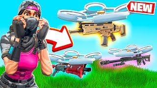 VINCERE USANDO SOLO IL LOOT DEI DRONI! - FORTNITE *BATTLE ROYALE*