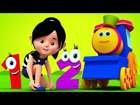 One Two Buckle My Shoe - Bob The Train Cartoons & Nursery Rhymes for Kids