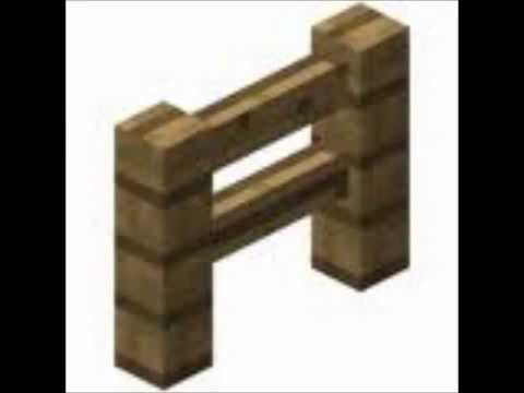 comment faire une barri re sur minecraft youtube. Black Bedroom Furniture Sets. Home Design Ideas