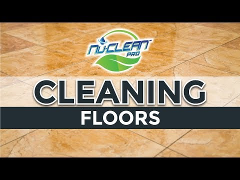 Cleaning Floors - NuClean Pro Aqueous Ozone Demonstration