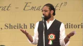 12. Dr. Nawaz Deobandi - Hamari Association Mushaira - Dubai 2012