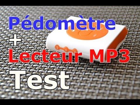 Pedomètre + Lecteur/Baladeur MP3 2 en 1 : Test