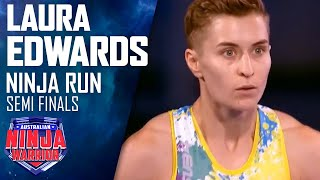 Ninja run: Laura Edwards (Semi Final) | Australian Ninja Warrior 2018