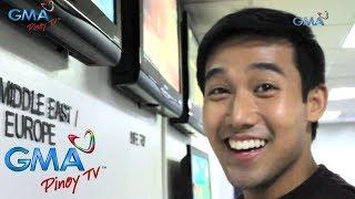 """GMA Pinoy TV: Boyet ng """"My Special Tatay,"""" bumisita sa GMA Pinoy TV"""