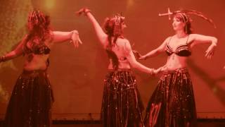 The Phantom Circus: Bellydance Sword Balance & Fire - The Oriental Theater | 27-April-2017