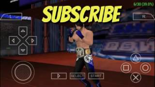 WWE 2K14 psp android game how to change old title to new wwe 2k17 mod title