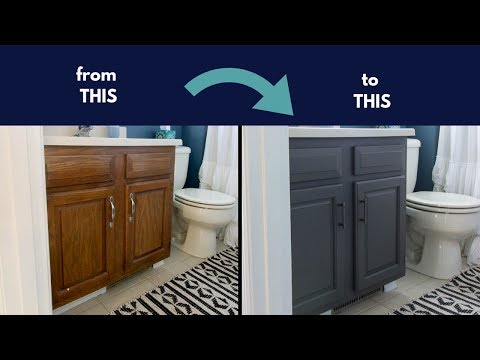 Chalk Paint Cabinets Cheap Bathroom Renovation Youtube,How To Decorate Your Room With Christmas Lights