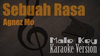 Agnez Mo - Sebuah Rasa (Male Key) Karaoke Version | Ayjeeme Channel