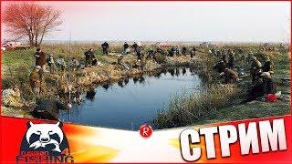 Russian Fishing 4 Рыбаков много а Рыбы нет