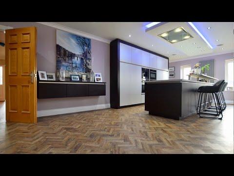 Polyflor Parquet flooring installation | By Luxury Flooring Manchester