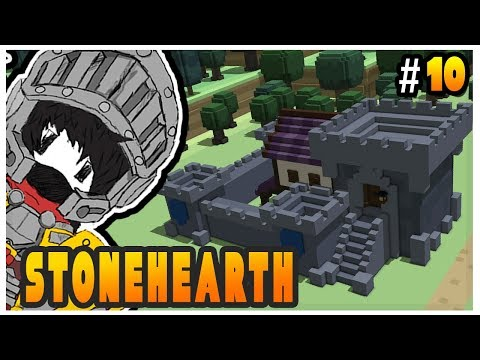 Stonehearth Alpha 23 - Castle Speed Build - Ep 10