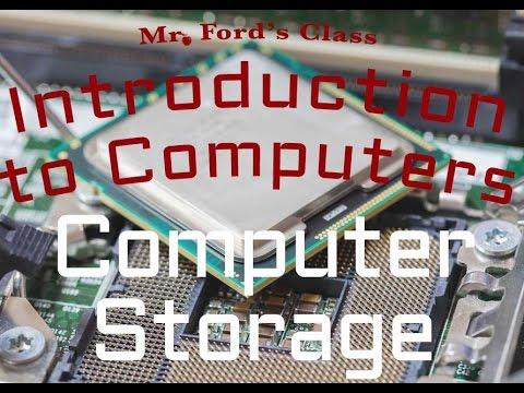 Computer Hardware : Computer Storage (02:03)