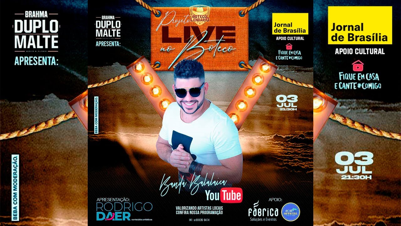 Projeto Live no Boteco - Banda Balalaica