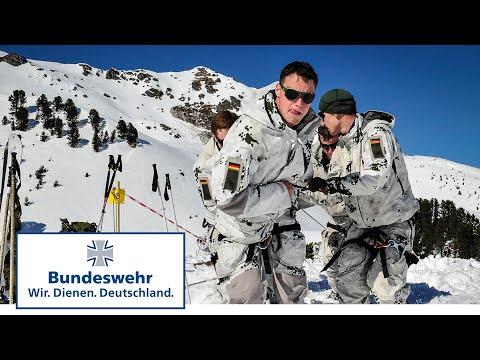 Wer gewinnt? Gebirgswettkampf in Tirol - Bundeswehr