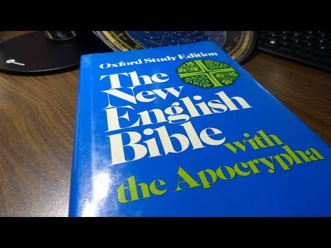 The New English Bible, Oxford Study Edition, With Apocrypha