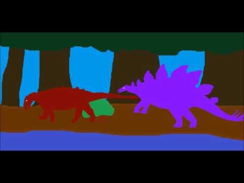 PDW   Ankylosaurus vs Stegosaurus
