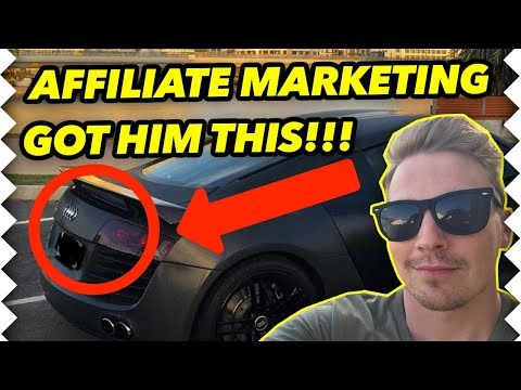 affiliate-marketing-got-him-an-audi-r8...-so-we-went-driving-around-in-it!