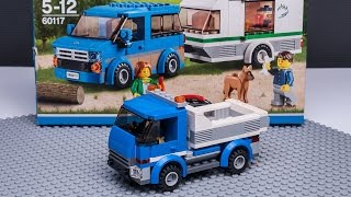 LEGO stop motion tutorial for city 60117 moc DUMP TRUCK