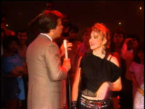 Dick Clark Interviews Madonna on American Bandstand 1983