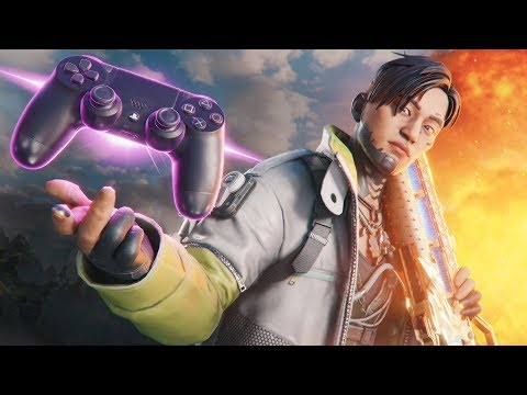 We found the BEST Crypto on CONTROLLER (23 Kills) – Apex Legends Gameplay