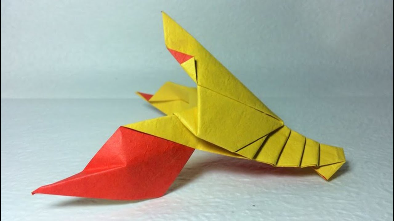 How To Make Easy Origami Lobster Shirmp