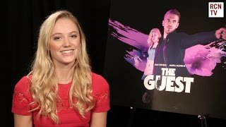 Maika Monroe Interview The Guest & Dan Stevens