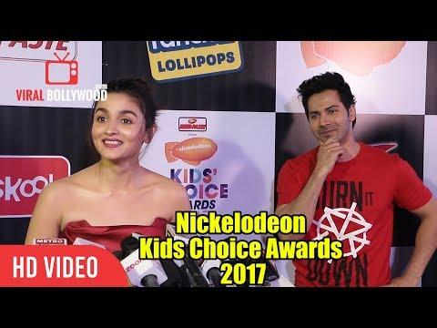 Varun Aur Alia Ki Jodi At Nickelodeon Kids Choice Awards 2017   Varun Dhawan   Alia Bhatt