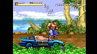 Streets of Rage Remake - SoRMaker Mods: Cadillacs & Dinosaurs playthrough