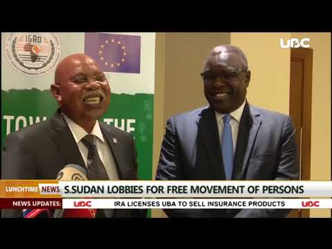 SOUTH SUDAN LOBBIES FOR FREE MOVEMENT OF PERSONS
