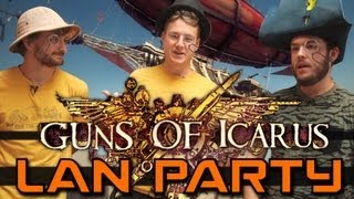 LAN Party: Guns of Icarus Online