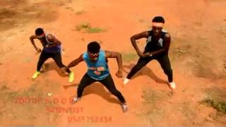 Dj Neptune ft Olamide stonebwoy Baddest dance video by obuasi nonstop dancers x ohene chingy