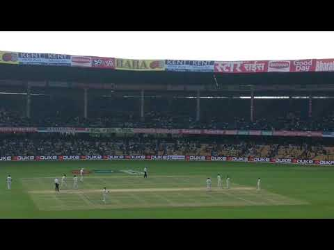 Ind vs aus test in Bangalore ...ind winning moment