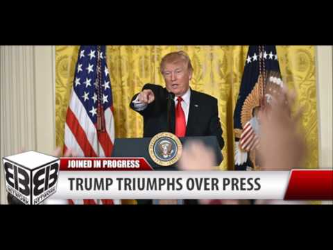 Trump's Triumphant 2/16 Press Conf. ...w/ Limbaugh Running Commentary