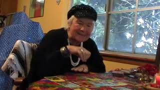 Z Budapest does Trump Tarot Reading after impeachment announcement.