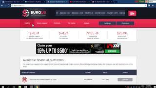 Kiem tien online voi EUROUS  NET  21 October 2017
