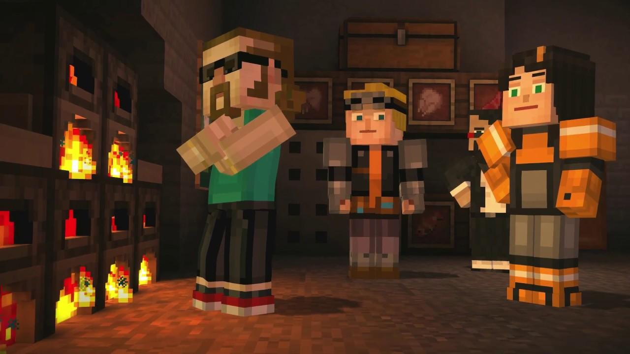 Download Minecraft : Story mode - Episode 6 - Walkthrough (Female Jesse)