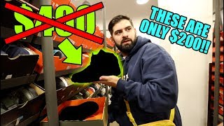 INSIDE THE CHEAPEST NIKE STORE IN THE WORLD!!