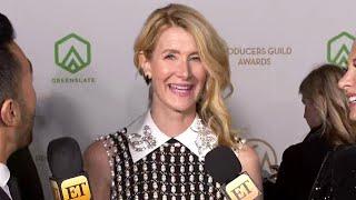 Laura Dern Talks Big Little Lies Season 3 | PGA Awards 2020