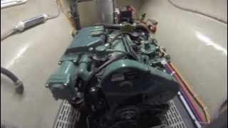 Shuttleworth 52' AeroRig Catamaran Engine Room