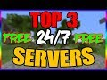HOW TO GET A FREE 24/7 MINECRAFT SERVER TOP 3 FREE HOSTING ...