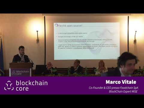 Roma, 14 maggio 2019 - Intervento di Marco Vitale - Blockchain Digital Innovation