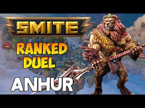 SMITE | Anhur, poco a poco subiendo!! | Ranked Duel