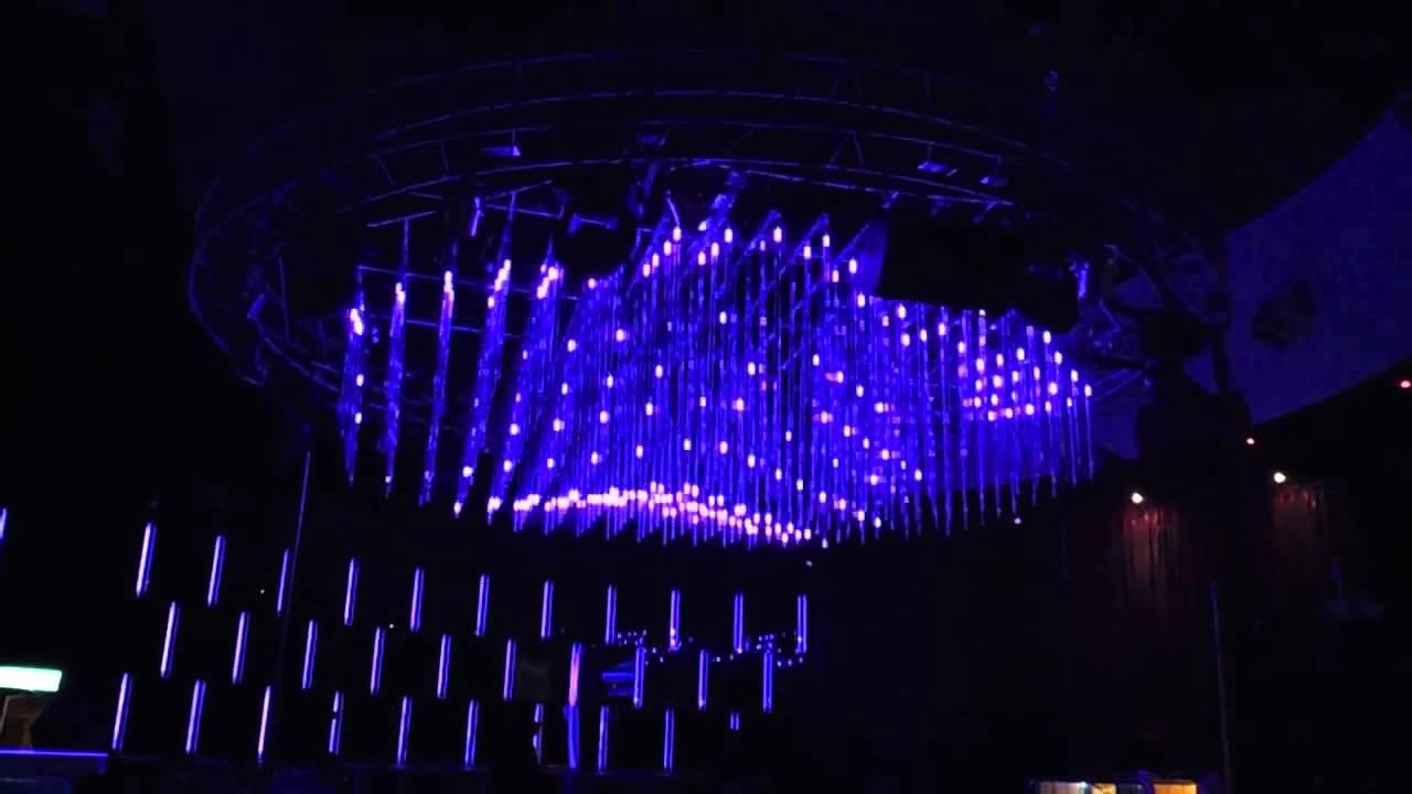 Madrix professional muse taipei taiwan rgb 3d led tubes nightclub lighting youtube - Licht nightclub ...