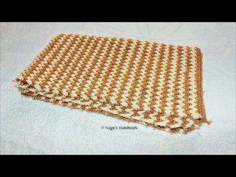 Crochet Baby Blanket for Beginners-Baby Blanket-Crochet Tutorials By ...