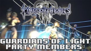 GUARDIANS OF LIGHT WILL BE PARTY MEMBERS IN KINGDOM HEARTS 3?!