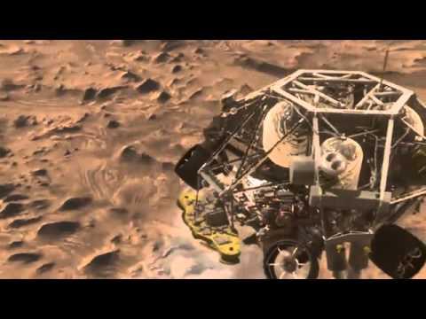 mars rover landing animation - photo #8