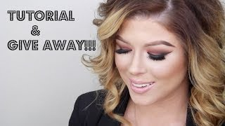 Warm Red Brown Smokey Eye plus GIVE AWAY!!!!! Thumbnail
