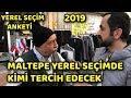MALTEPE - İSTANBUL | BİNALİ YILDIRIM - EKREM İMAMOĞLU | YEREL SEÇİM ANKETİ 2019