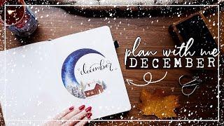 PLAN WITH ME | December 2019 Bullet Journal Set Up