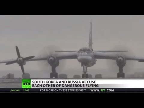 South Korea says Russia violated airspace